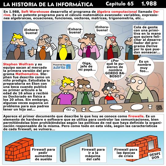 Historia de la Inform�tica. Cap�tulo 65. 1988
