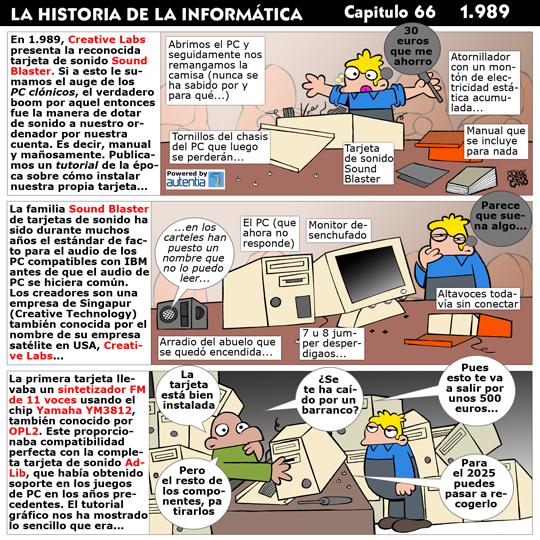 Historia de la Inform�tica. Cap�tulo 66. 1989