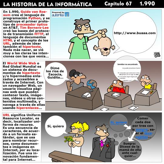 Historia de la Inform�tica. Cap�tulo 67. 1990
