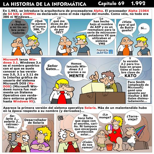 Historia de la Inform�tica. Cap�tulo 69. 1992