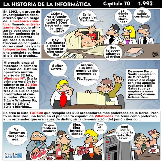 Historia de la Inform�tica. Cap�tulo 70. 1993