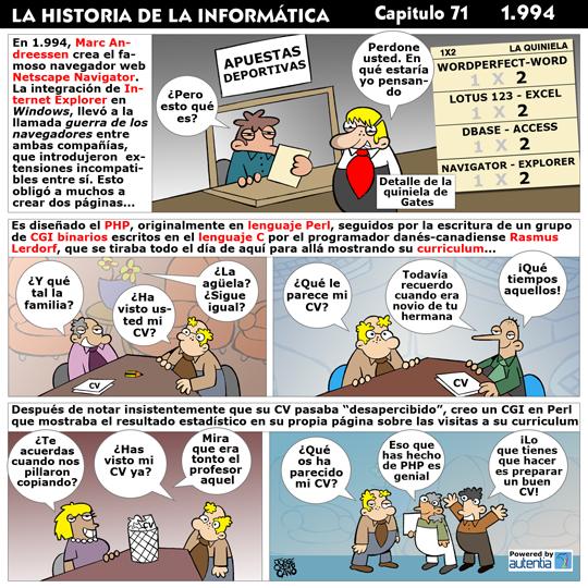 Historia de la Inform�tica. Cap�tulo 71. 1994