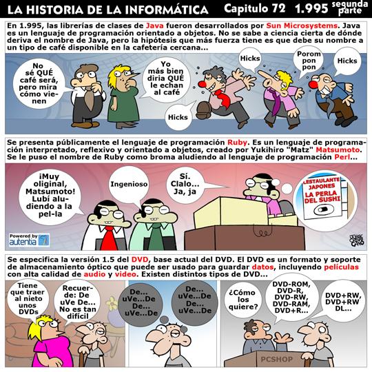Historia de la Inform�tica. Cap�tulo 72. 1995 (2� Parte)