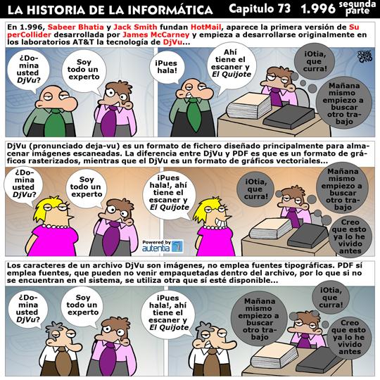 Historia de la Inform�tica. Cap�tulo 73. 1996 (2� Parte)
