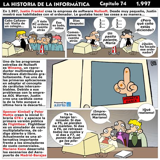 Historia de la Inform�tica. Cap�tulo 74. 1997