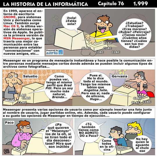 Historia de la Inform�tica. Cap�tulo 76. 1999