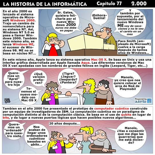 Historia de la Inform�tica. Cap�tulo 77. 2000