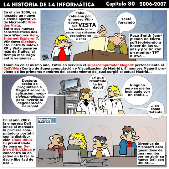 Historia de la Inform�tica. Cap�tulo 80. 2006 - 2007