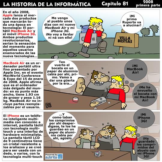 Historia de la Inform�tica. Cap�tulo 81. 2008 (1� Parte)