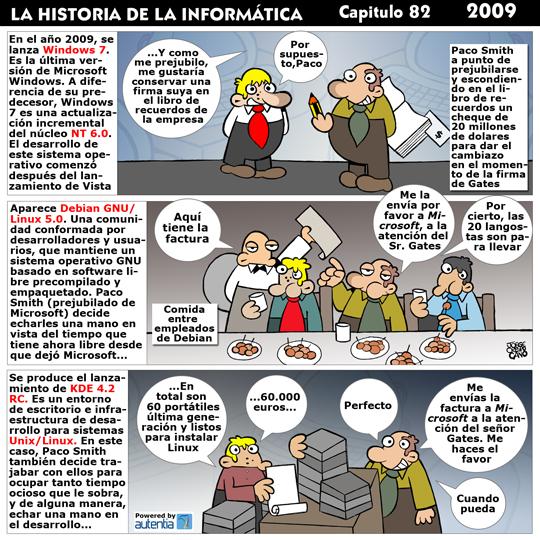 Historia de la Inform�tica. Cap�tulo 82. 2009