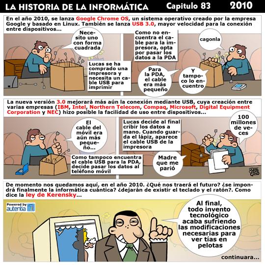 Historia de la Inform�tica. Cap�tulo 83. 2010