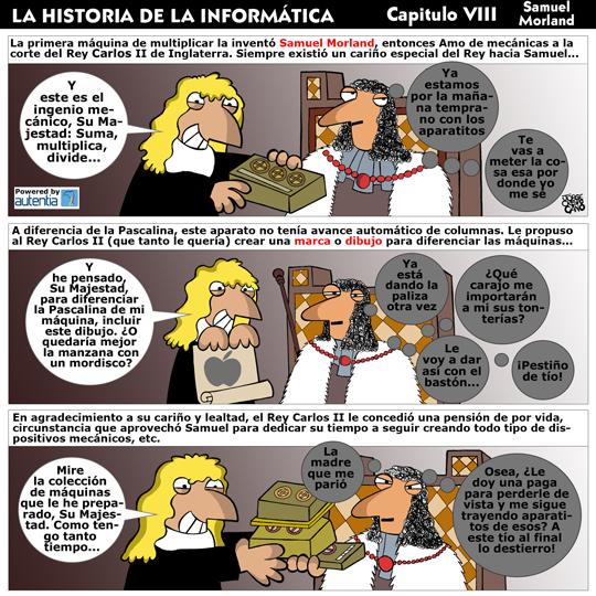 Historia de la inform�tica. Cap�tulo 8. Samuel Morland