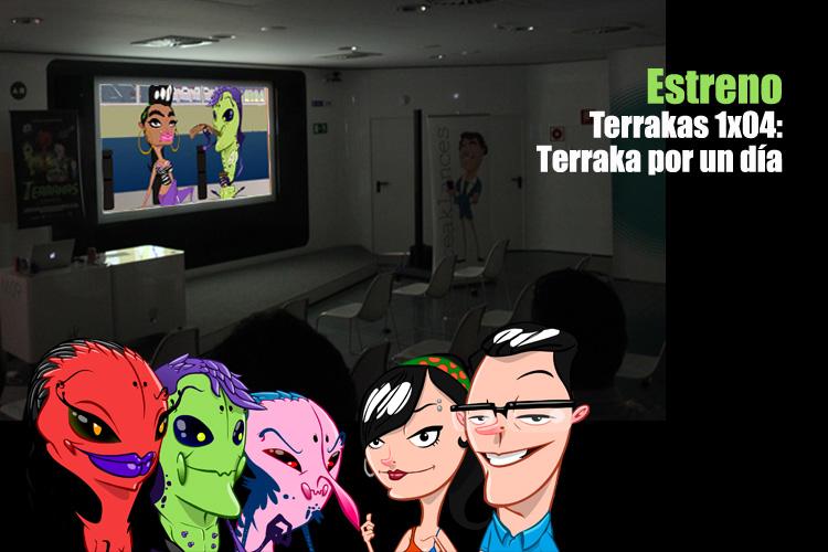 El cap�tulo 1x04 de Terrakas ya est� en la web!!