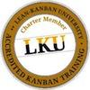 Logo del certificado por la Lean Kanban University