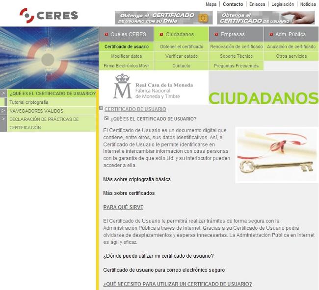 Certificados en firefox fnmt y aeat adictosaltrabajo - Aeat oficina virtual ...