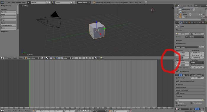 Nuevo archivo Blender