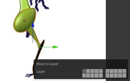Mover capas