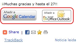 Anadir Calendario.Botones Para Anadir Eventos Directamente A Calendario