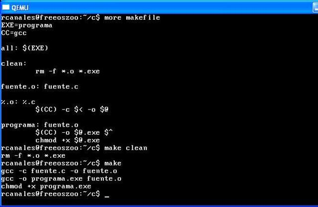 how to create makefile in linux