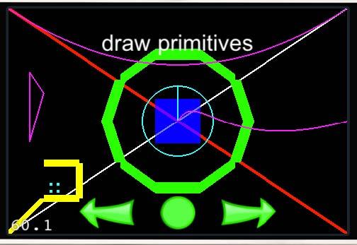 Line Drawing In Opengl : Revisando los ejemplos de cocos d para iphone