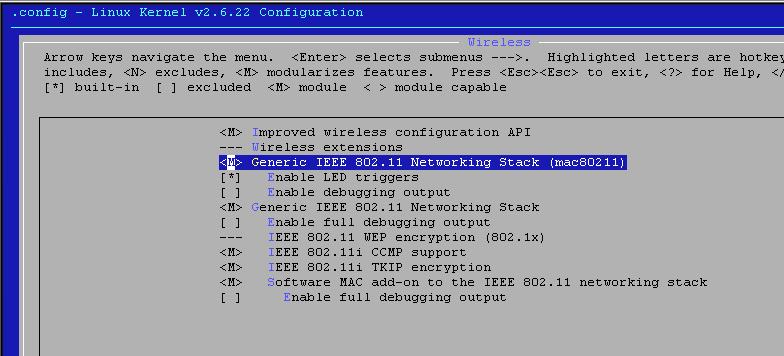 Wireless en Debian GNU/Linux con iwlwifi para las tarjetas Intel