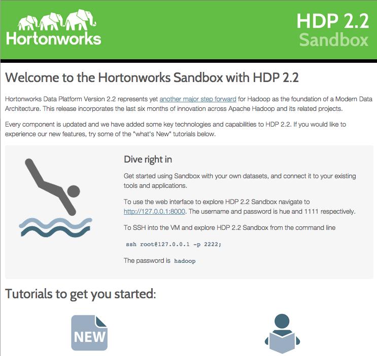 Introducción a la Sandbox HDP - Hortonworks Data Platform - Adictos