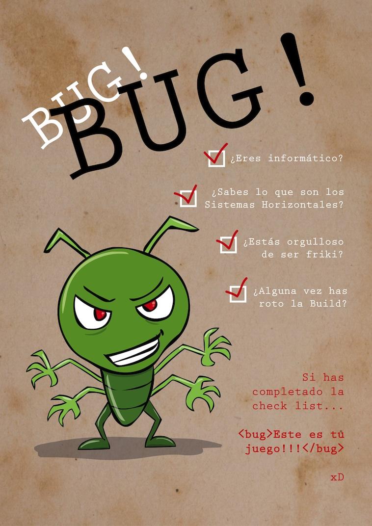 Resultado de imagen de bugs informaticos chistes
