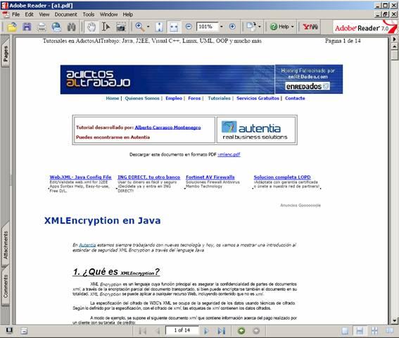 Librería PDFBOX de Java - Adictos al trabajo