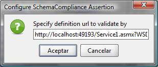 soapUI SchemaCompliance Assertion