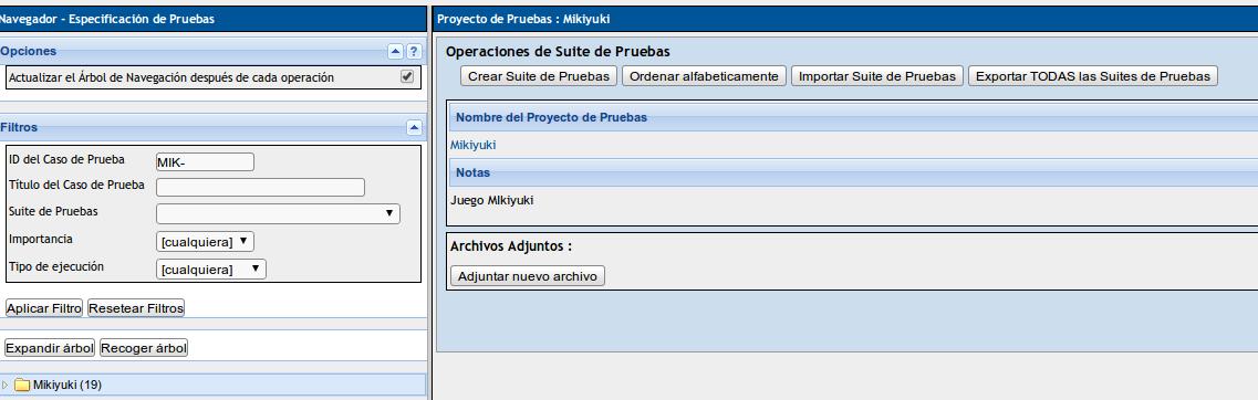 Generación de informes de proyectos ágiles en TestLink ...