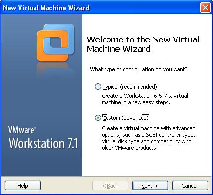 Crear una m quina virtual con vmware workstation for Programa para crear habitaciones virtuales