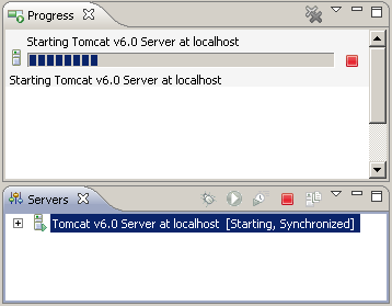 Eclipse server deploy