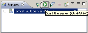 Eclipse server start