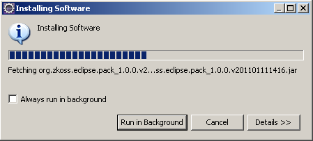 Eclipase installing software